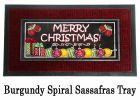 Sassafras Merry Christmas Switch Doormat - 10 x 22