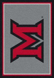 Miami of Ohio Redhawks Nylon Spirit Area Rug
