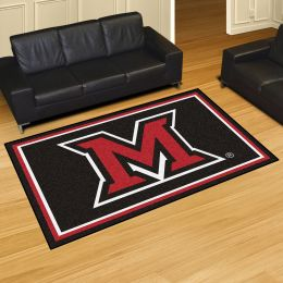 Miami of Ohio University Area rug – Nylon 5' x 8'