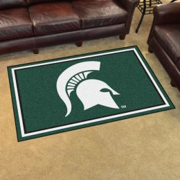 Michigan State University Area Rug - 4 x 6 Nylon
