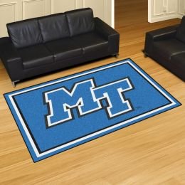 Middle Tennessee State University Blue Raiders Area Rug – 5 x 8