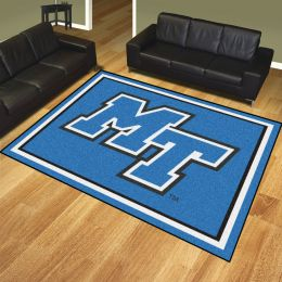 Middle Tennessee State University Blue Raiders Area Rug – 8 x 10