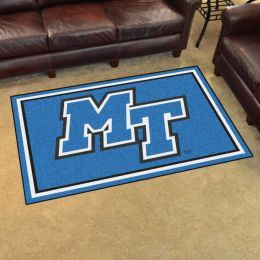 Middle Tennessee State University Area Rug - 4 x 6 Nylon