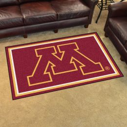 Minnesota University Area Rug - 4 x 6 Nylon