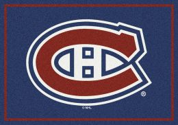 Montreal Canadiens Spirit Area Rug - NHL Hockey Logo