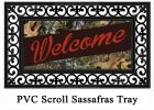 Sassafras Mossy Oak Welcome Switch Doormat - 10 x 22