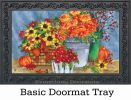 Indoor & Outdoor Mums the Word MatMate Doormat-18x30
