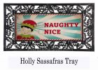 Sassafras Naughty or Nice Switch Doormat - 10 x 22 Insert