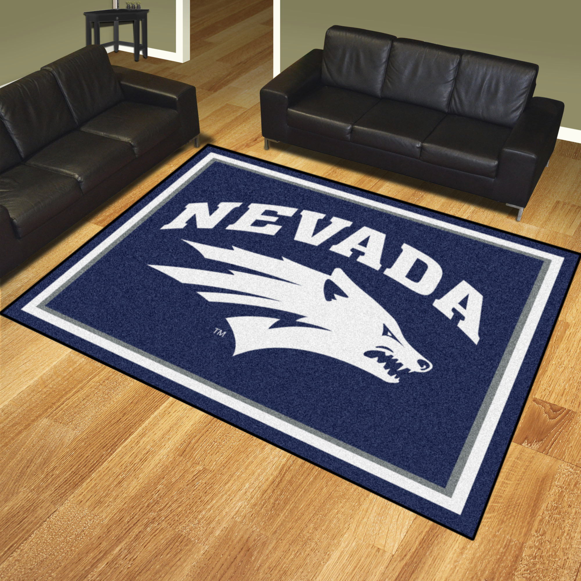 Nevada University Wolf Pack Area Rug – 8 x 10