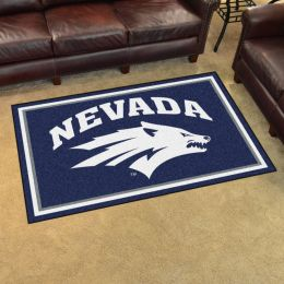 Nevada University Area Rug - 4 x 6 Nylon