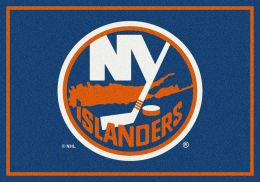 New York Islanders Spirit Area Rug ? NHL Hockey Logo