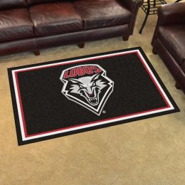 New Mexico University Area Rug - 4 x 6 Nylon