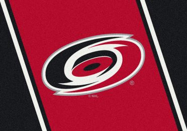 Carolina Hurricanes Spirit Area Rug - NHL Hockey Logo