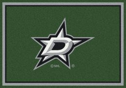 Dallas Stars Spirit Area Rug - NHL Hockey Logo