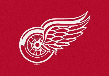 Detroit Red Wings Spirit Area Rug - NHL Hockey Logo
