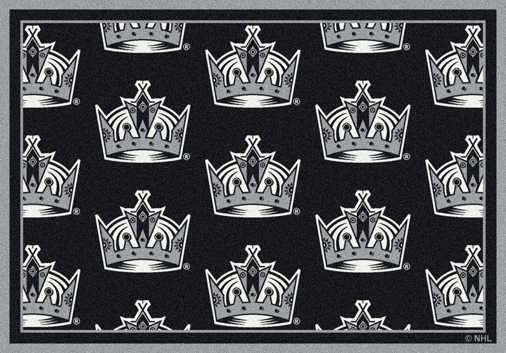 Los Angeles Kings Repeating Logo Area Rug
