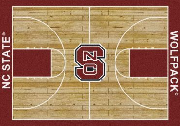 North Carolina State Wolfpack Home Court Area Rug