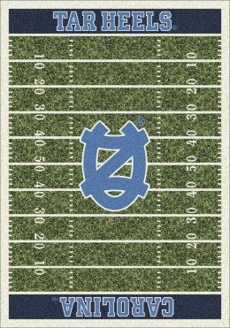 Carolina Tar Heels Home Field Nylon Area Rug