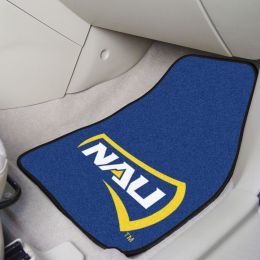 Northern Arizona University 2pc Carpet Car Mat Set - Nylon