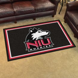 Northern Illinois University Area Rug - 4 x 6 Nylon