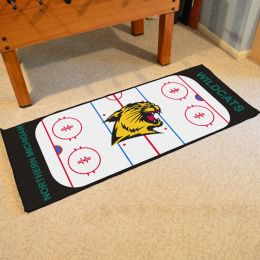 Northern Michigan  Wildcats Rink Runner Mat - 29x72