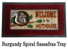 Sassafras Nut House Switch Mat - 10 x 22 Insert Doormat
