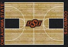 OSU Cowboys Basketball Home Court Nylon Area Rug