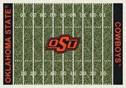 OSU Cowboys Home Field Nylon Area Rug