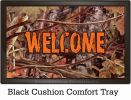 Indoor & Outdoor Orange & Camo Insert Doormat – 18x30