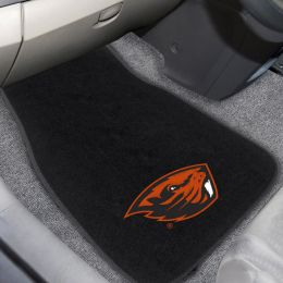 OSU Beavers Embroidered Car Mat Set - Carpet