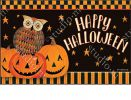 Indoor & Outdoor Owloween Fun MatMate Insert Doormat