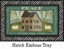 Indoor & Outdoor Peace To All MatMate Doormat-18x30
