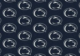 Penn State Nittany Lions Repeat Logo Area Rug - College Mat
