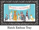 Indoor & Outdoor Pet Holiday MatMate Doormat-18x30