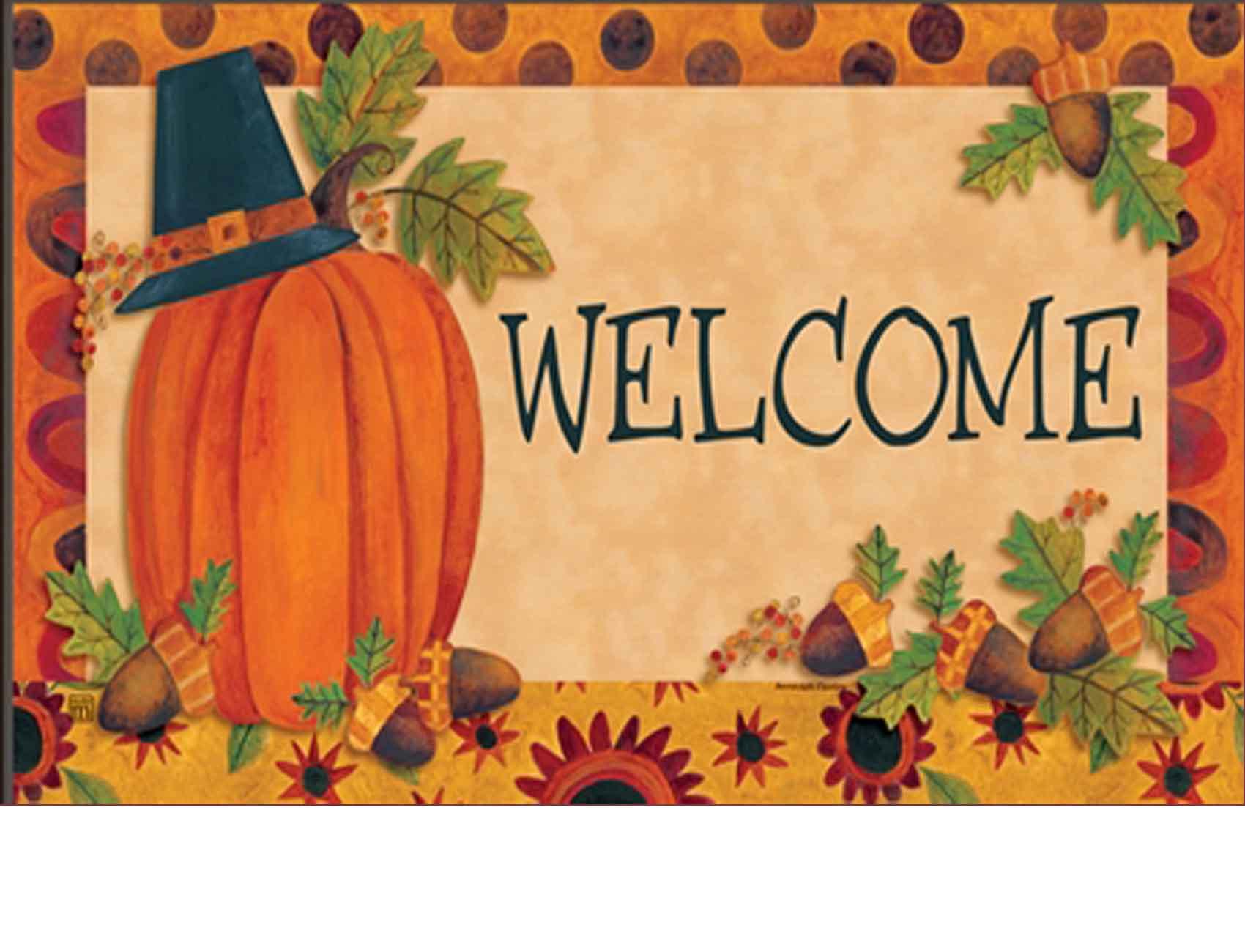 outdoor pilgrim pumpkin matmates doormat 18 x 30 indoor outdoor pilgrim pumpkin matmates doormat 18 x 30 kristyandbryce Images