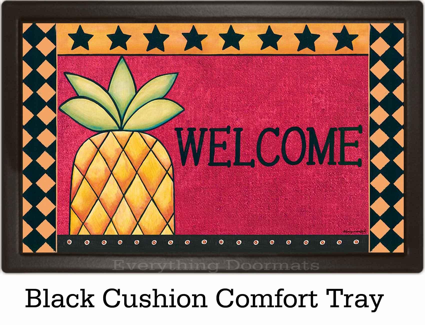 indoor u0026 outdoor pineapple welcome insert