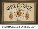 Indoor & Outdoor Pineapple Welcome Insert Doormat - 18 x 30