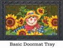 Indoor & Outdoor Plaid Scarecrow Insert Doormat - 18x30