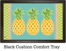 Indoor & Outdoor Preppy Pineapple MatMate Doormat-18x30