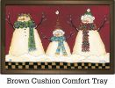 Indoor & Outdoor Primitive Snowmen MatMate Doormat-18x30