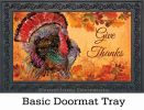 Indoor & Outdoor Proud Turkey MatMate Doormat-18x30