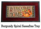 Sassafras Pumpkin Bucket Switch Doormat - 10 x 22