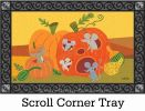 Indoor & Outdoor Pumpkin Critters MatMate Doormat - 18x30