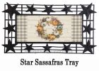 Pumpkin Time Wreath Sassafras Mat - 10 x 22 Insert Doormat