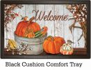 Indoor & Outdoor Pumpkins & Cotton Insert Doormat - 18x30