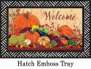 Indoor & Outdoor Pumpkins & Gourds Insert Doormat - 18x30