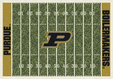 Purdue Boilermakers Home Field Area Rug - Football Logo
