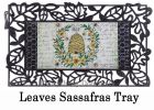 Sassafras Queen Bee Hive Switch Mat - 10 x 22 Insert Doormat