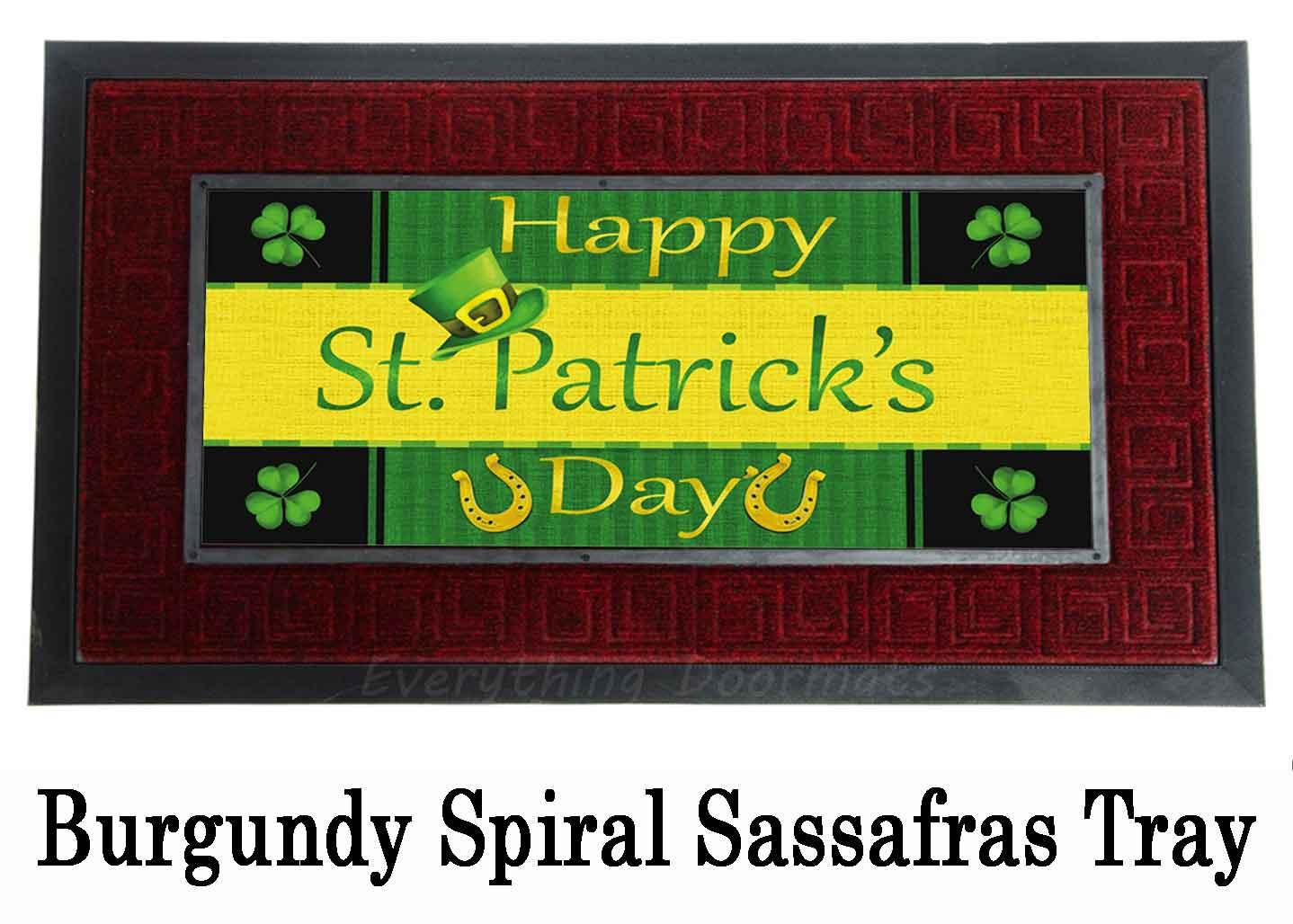 Sassafras Saint Patrick 226 S Day Switch Mat 10 X 22 Insert