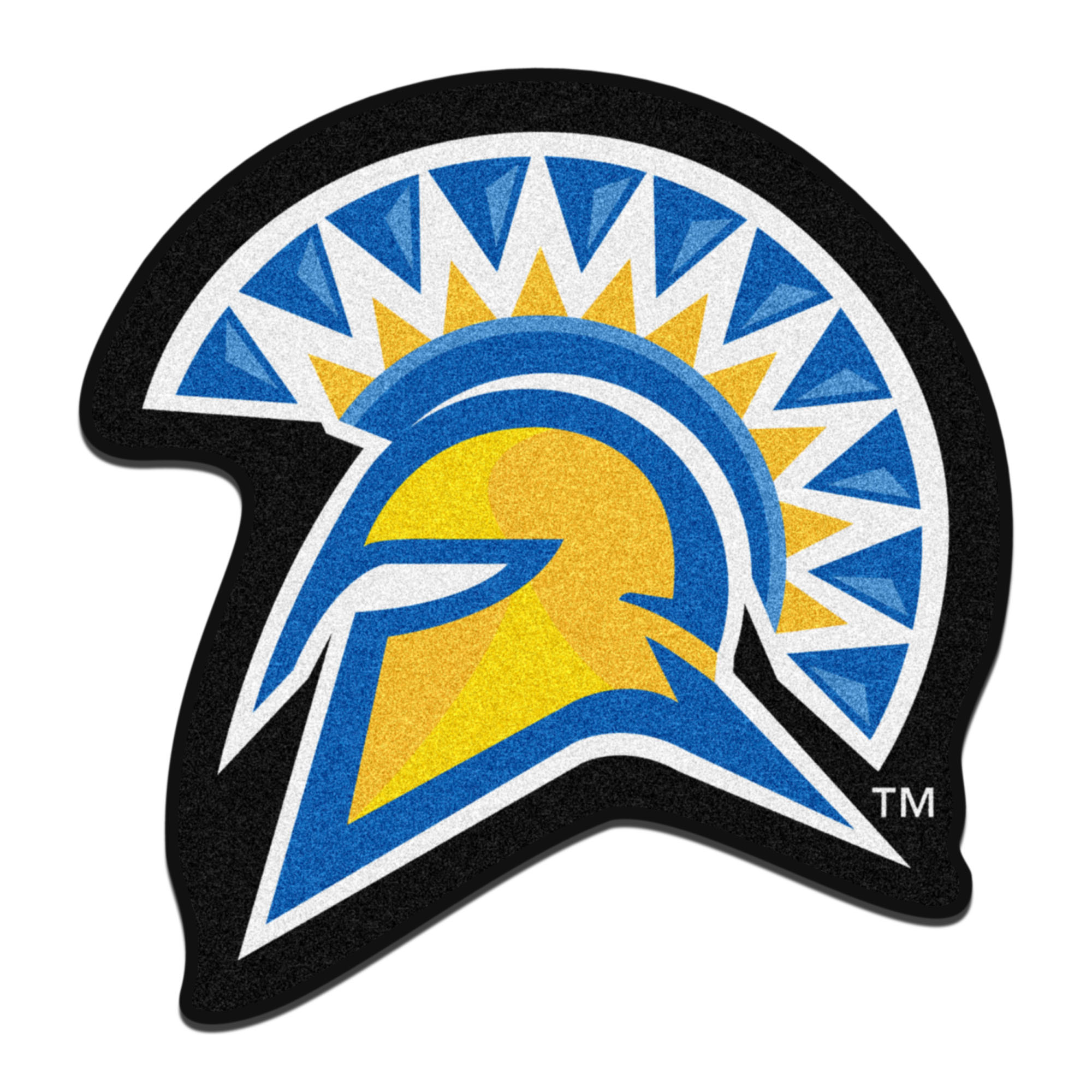 San Jose State University Spartans Mascot Area Rug Nylon